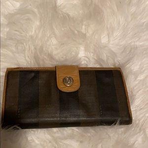 Vintage Authentic Fendi Wallet